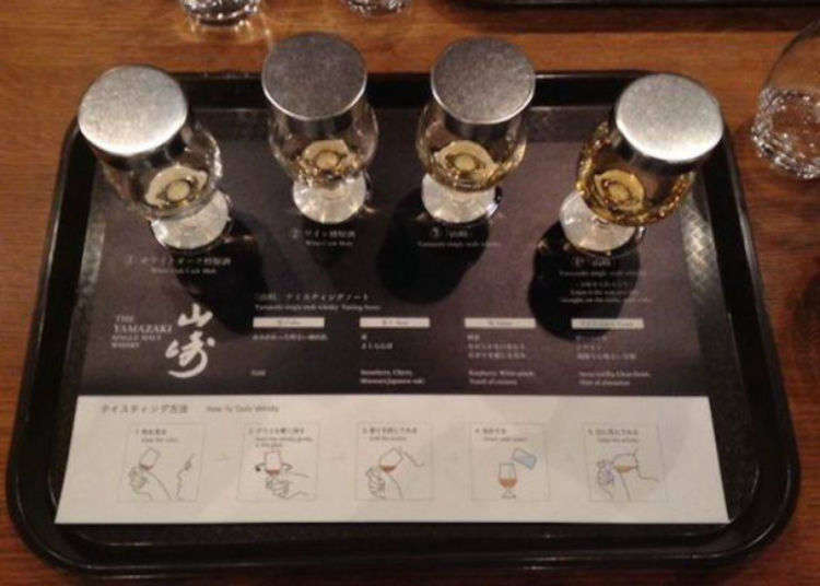 Totally immerse yourself in the world of whisky on the Yamazaki Distillery Tour