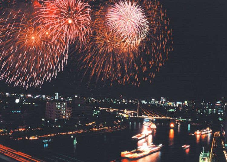 煙火與河水交織的藝術!一起暢遊日本三大祭典之一的大阪天神祭吧!