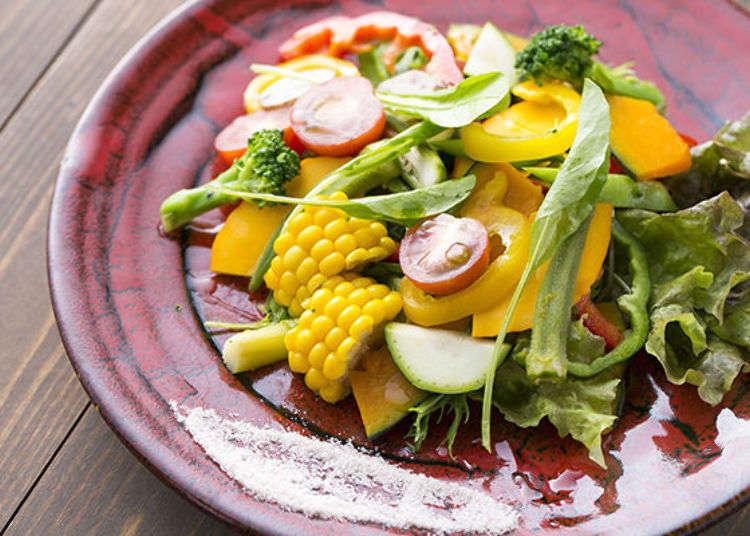 Top 3 Healthy Restaurants Serving Famous Kyoyasai - Heirloom Kyoto Vegetables!