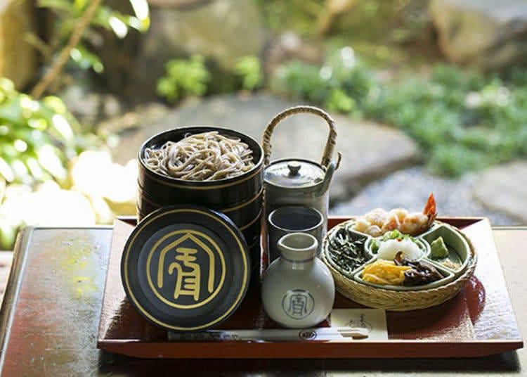 Honke Owariya's Kyoto soba secret: Fine Ingredients, used meticulously