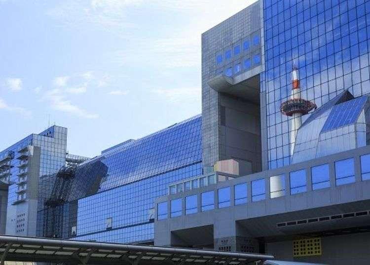 건축가 하라 히로시가 건축한 교토역 빌딩의 내부를 살펴본다