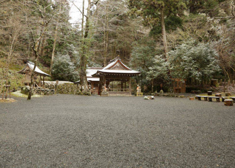 Discover the place where Kifune Shrine was first built