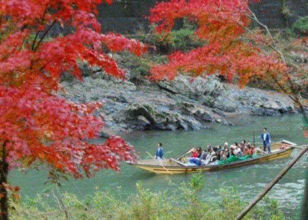 京都的招牌觀光景點「保津川遊船」比想像中還能享受刺激和自然溪谷的美景!