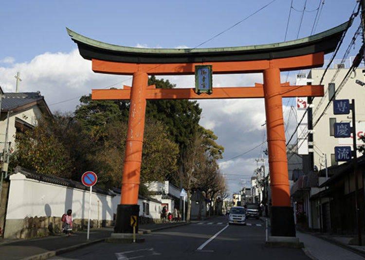 The First Stop After Leaving Fushimi Station is Gokonomiya Shrine