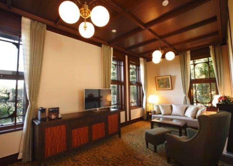好想住住看!「奈良飯店」讓人沉醉的經典奢華復古與傳統法式料理