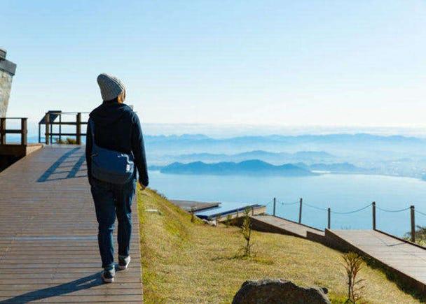 Biwako Terrace: Get a Breathtaking View of Lake Biwa - Japan's largest lake!