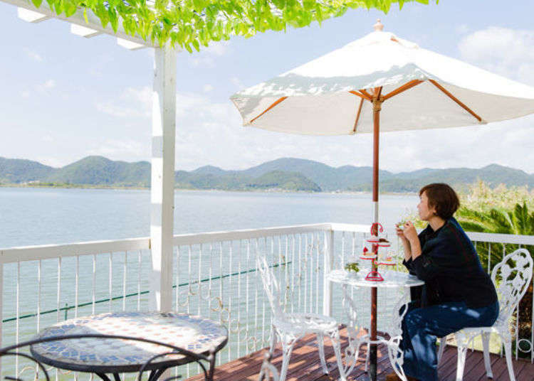 Visiting Lake Biwa: 3 stylish cafés offering excellent views of the area