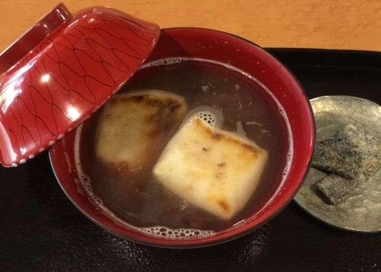等待一份密藏已久的美味!大阪年糕紅豆湯散策行