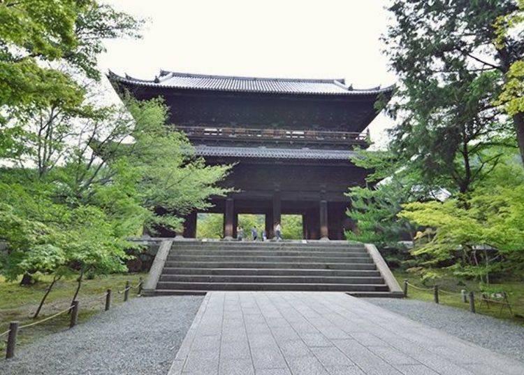 Sample of Nanzenji Temple's Best Photo Spots