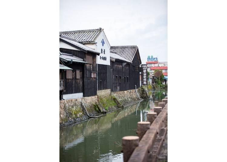 역사 있는 마을의 거리를 산책!
