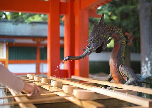The pristine appearance of Kumano Hayatama Grand Shrine