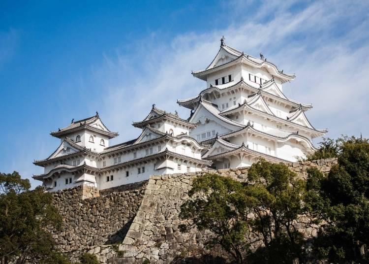 在大阪城天守阁体验武将滋味