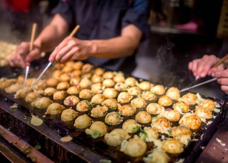 到處都是外國人熱愛的大阪美食!