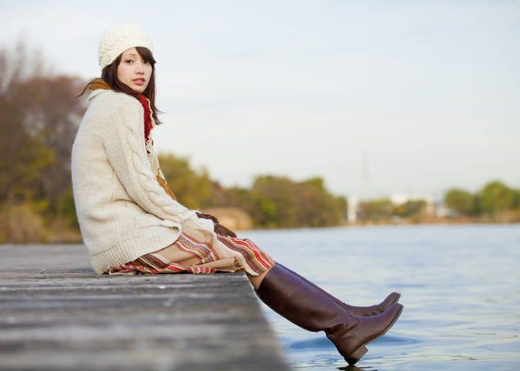 関西エリアの冬(12~2月)の服装・持ち物