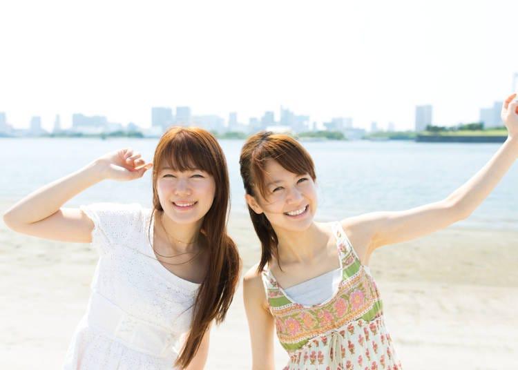 关西夏季(6月、7月、8月)出游时的建议服装&随身物品
