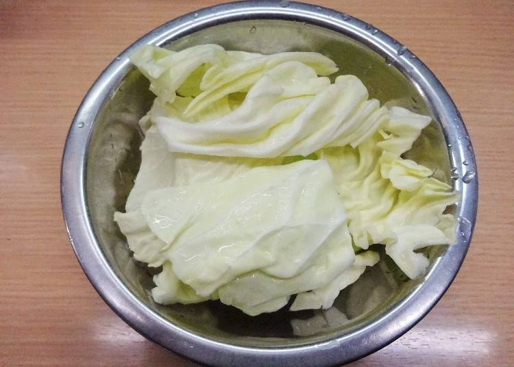 Step 2: Add More with Cabbage!