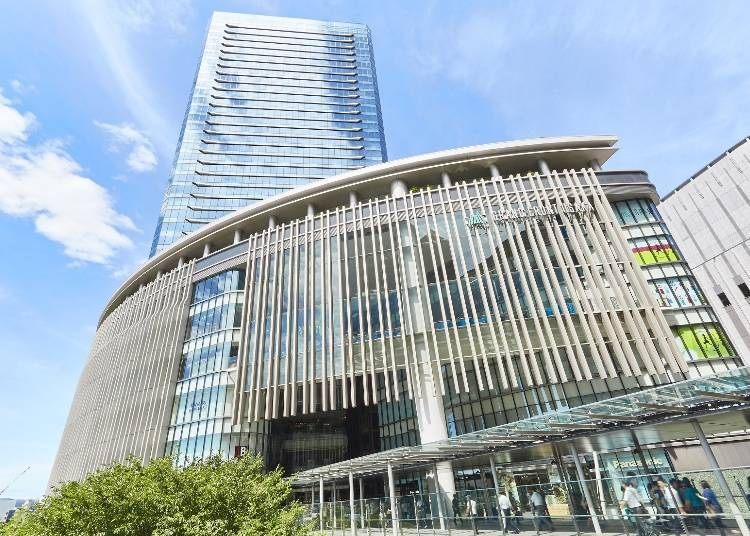 Shopping, food, technology and more! Grand Front Osaka