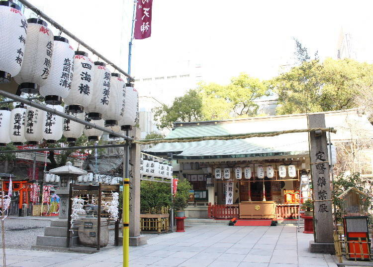 Getting spiritual in central Osaka: Tsuyu no Tenjin Shrine