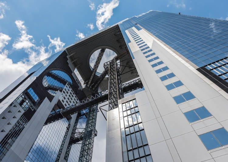大阪風景一覽無遺!獲選世界建築TOP20的「梅田藍天大廈空中庭園展望台」