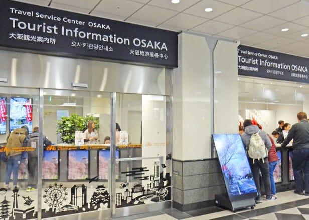 讓大阪之旅更順利的便民服務大公開!支援多國語言的JR大阪站「旅遊服務中心」