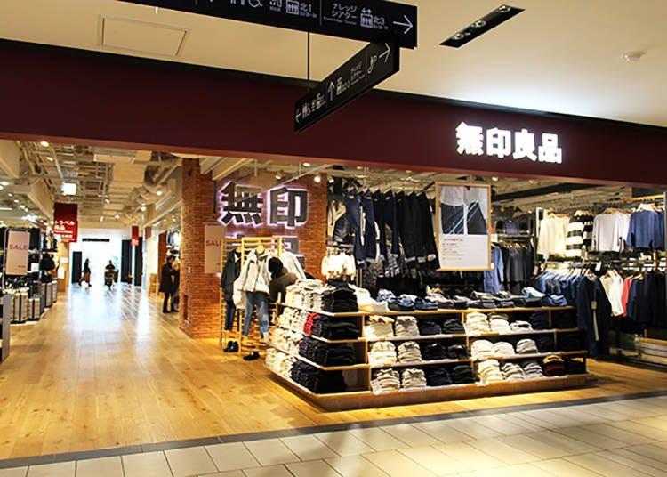 Kansai's largest: Muji Osaka