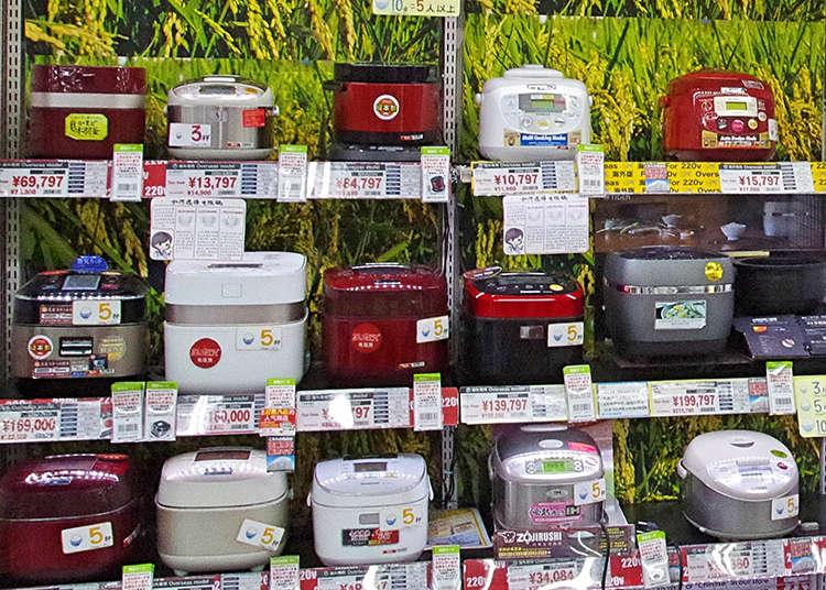오사카 요도바시카메라의 외국인 인기 가전제품 베스트10. 일본 최대 규모!
