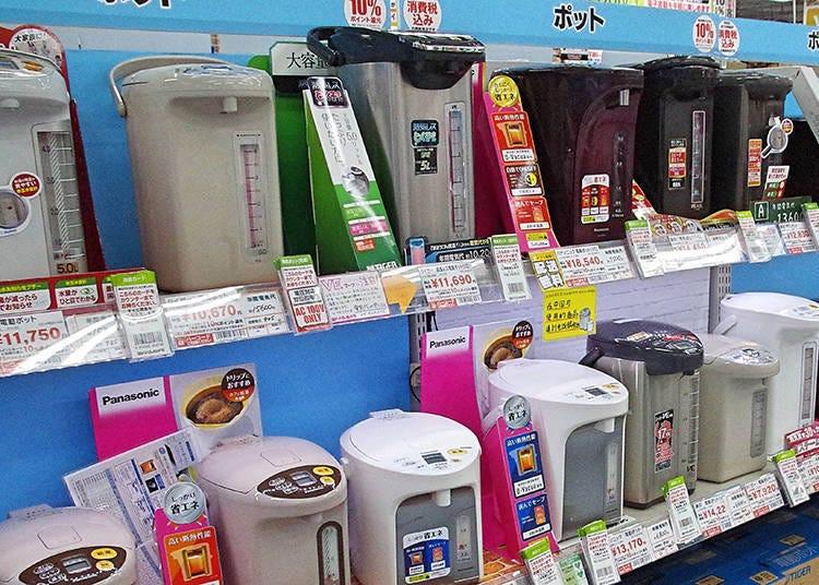人氣家電9【電熱水瓶】