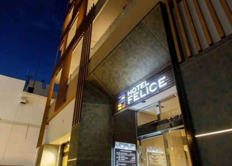 5. Hotel Felice Shinsaibashi: Experience modern Japanese rooms and amazing breakfast