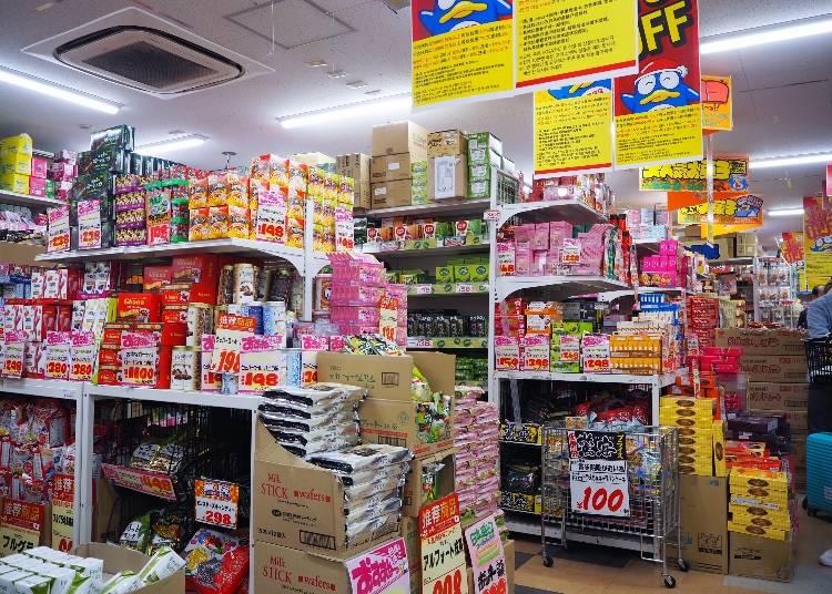 お店限定商品も好評!「お菓子コーナー」での人気商品は?