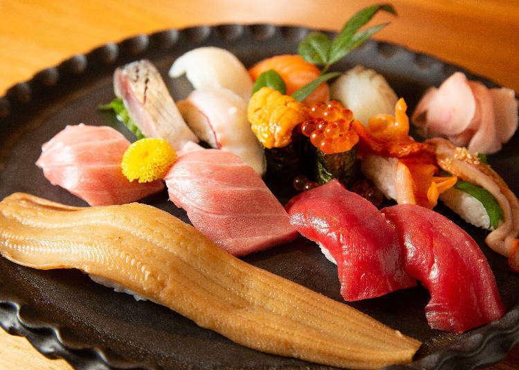 道頓堀グルメスポット。関西で働くライターおすすめの寿司店3選