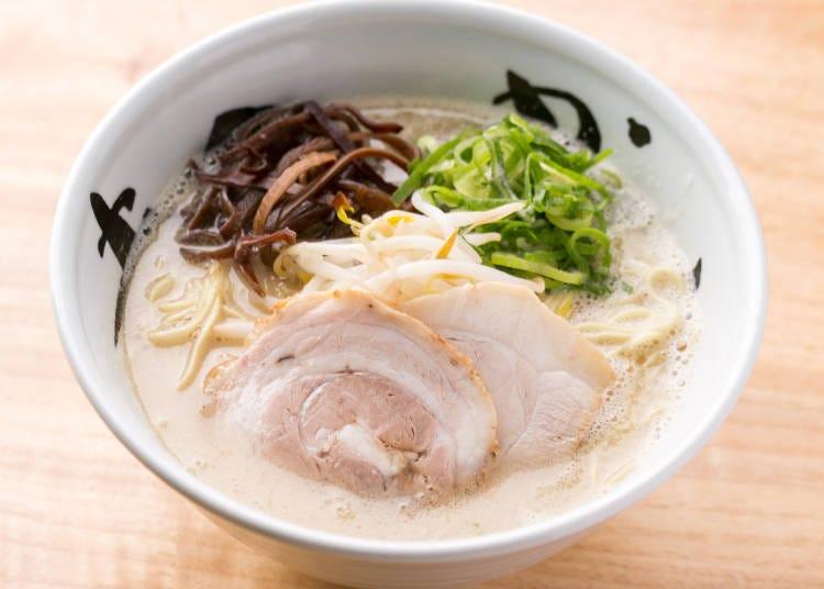 想吃正統派豚骨拉麵就去「MANKAI」