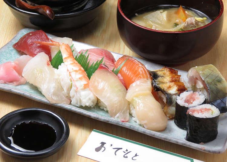 Local Writer's Top Three Sushi Restaurants Around Osaka Castle!