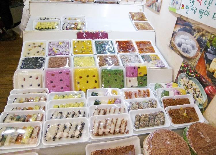 韓国のおいしいお餅を販売する「楽園」
