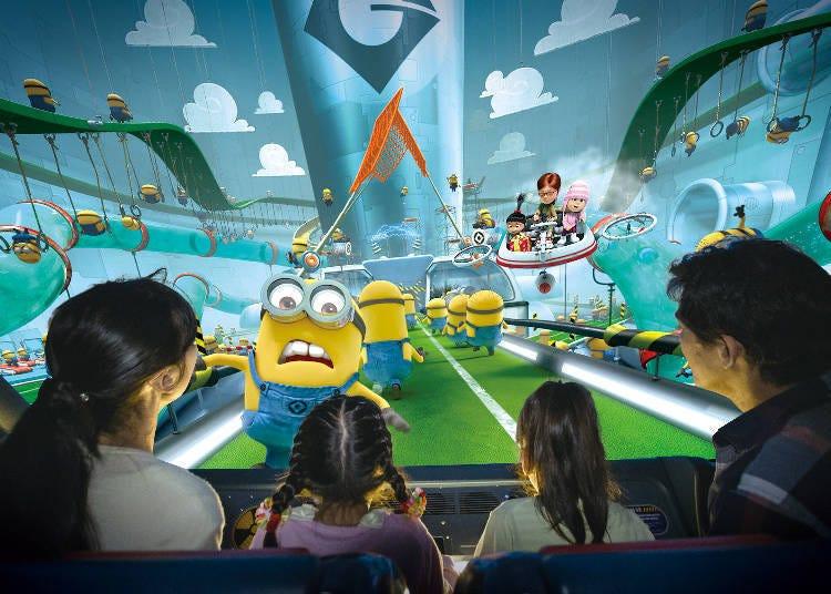 日本环球影城推荐玩乐设施-①超人气「小黄人乐园」