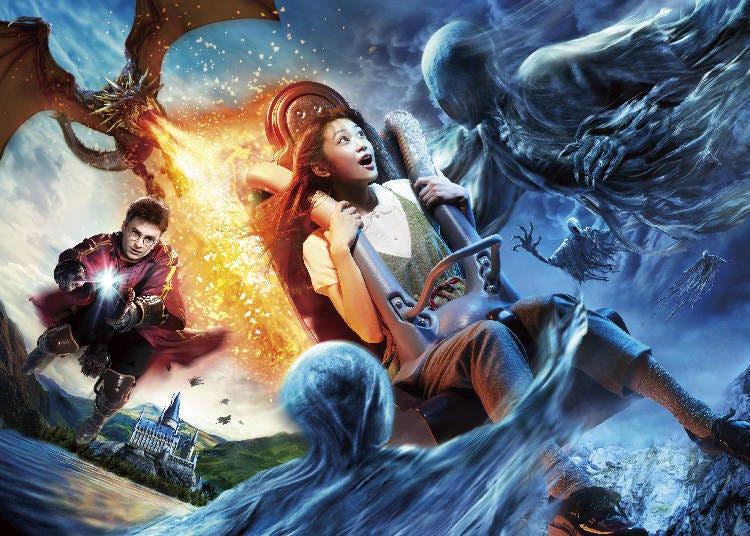 日本环球影城推荐玩乐设施-②和「哈利波特」一起进入魔法世界冒险吧!