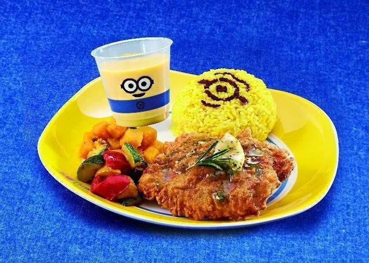 日本环球影城特别餐饮-①午餐也要享受满满的小黄人!