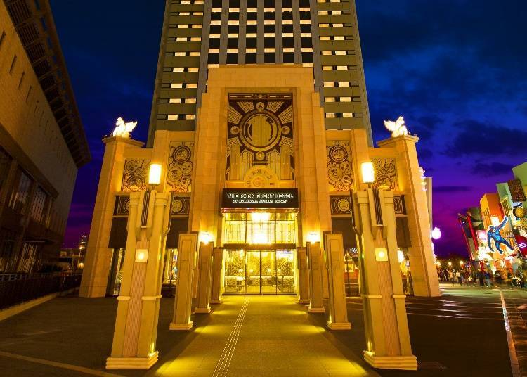 3. The Park Front Hotel at Universal Studios Japan: America Everywhere You Look!