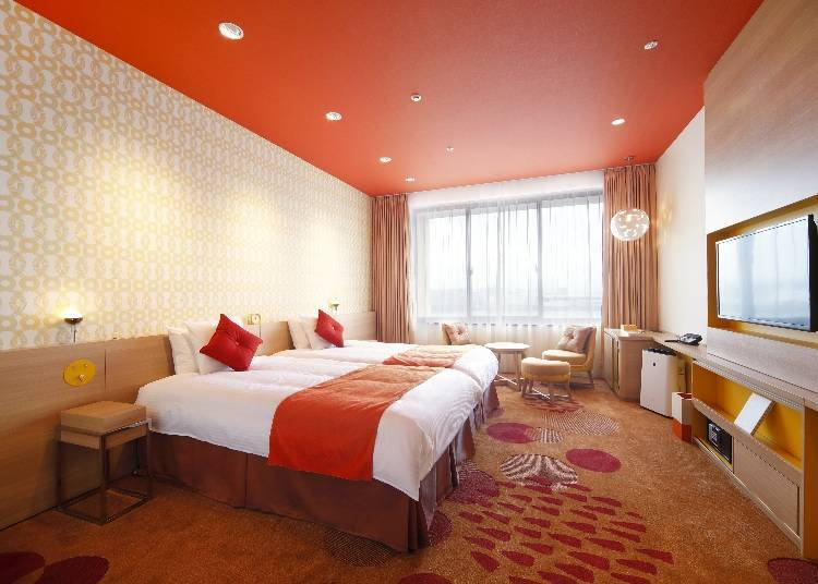 A Full Range of Rooms Based on Cheerful Design Concepts to Brighten Your Day