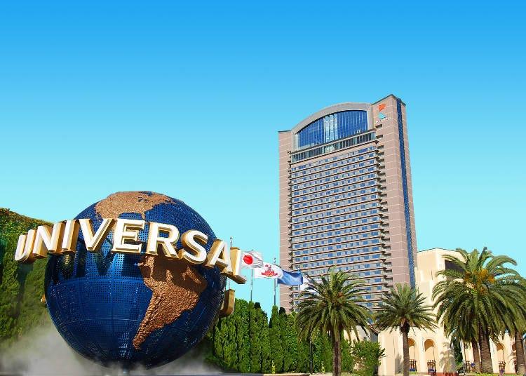 エリア内最高層の「ホテル京阪 ユニバーサル・タワー」