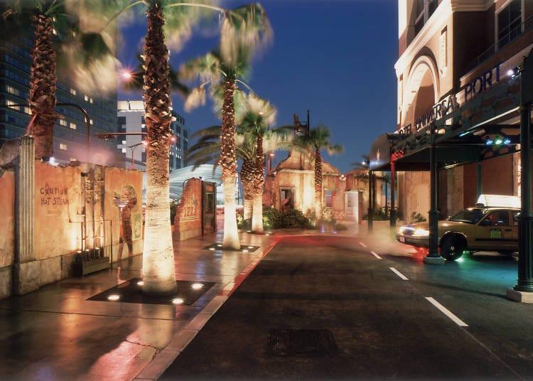 以影城的人氣角色作裝飾的魅力客房「環球港口飯店」