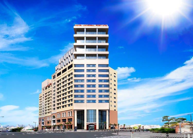官方合作飯店中最新的「環球港口飯店VITA」