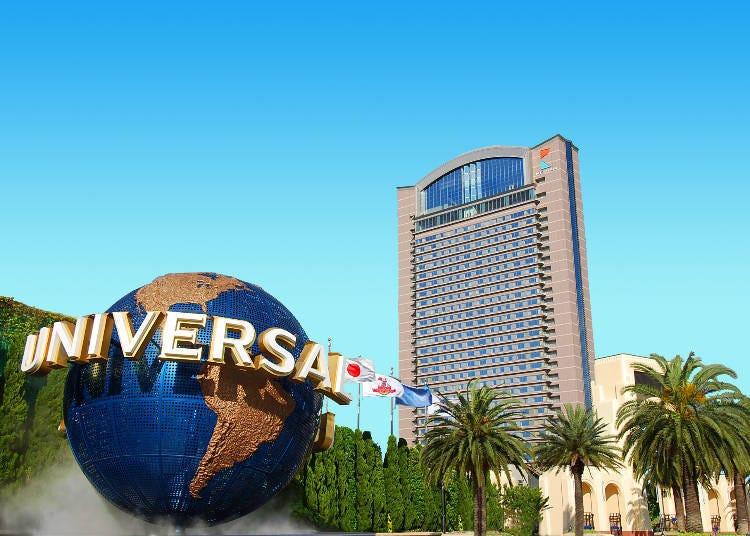 環球影城園區內樓層最高的「京阪環球影城塔樓飯店」