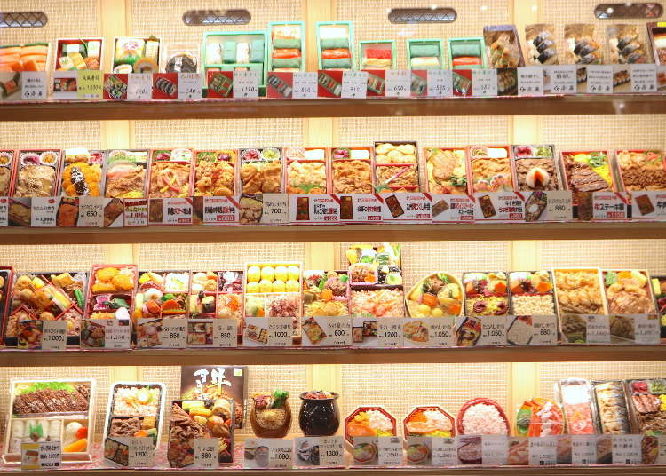 신오사카역 최대규모의  에키벤 전문점이 추천하는 [에키벤 추천 베스트 5]