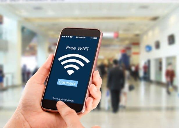 Where to Rent Osaka Pocket WiFi at Kansai International Airport
