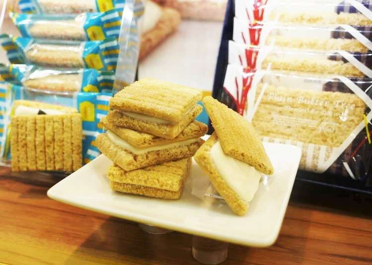 Tourists' favorite souvenirs in Kansai International Airport