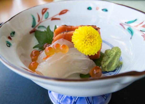 3日本の食文化が凝縮した「懐石」