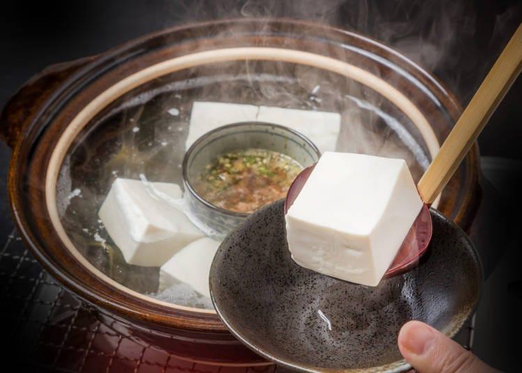 1.温かくてヘルシーな湯豆腐
