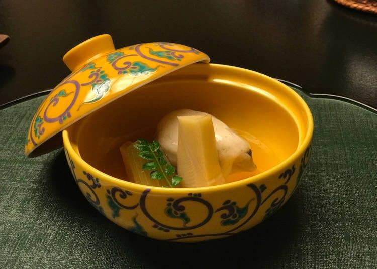 2. 透過外觀和味道感受季節的懷石料理