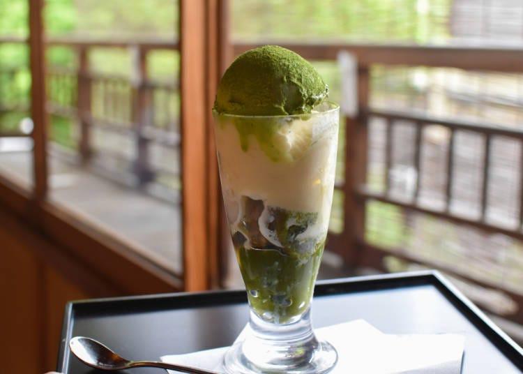 8. 微苦滋味令人著迷的抹茶甜點