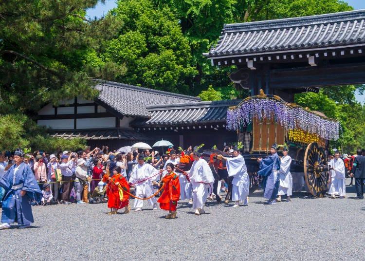 風雅的古典貴族遊行讓人著迷「葵祭」